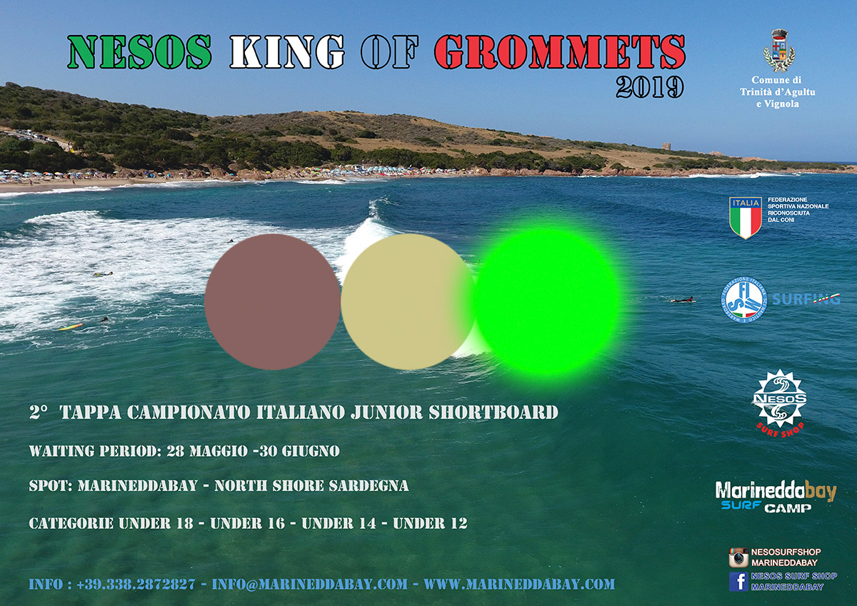 locandina-king-of-the-grommets-2019-Nesos-surf-club-marinedda-semaforo-verde